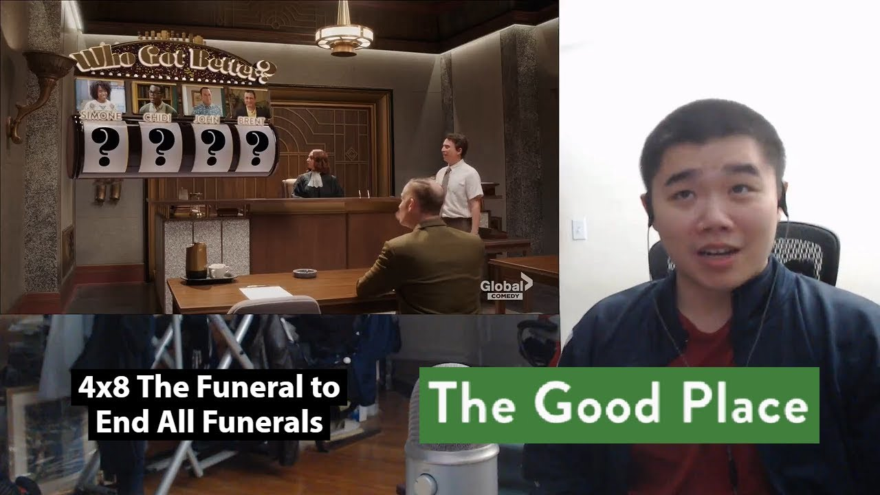 Download The Good Place Season 4 Episode 8- The Funeral to End All Funerals Reaction!