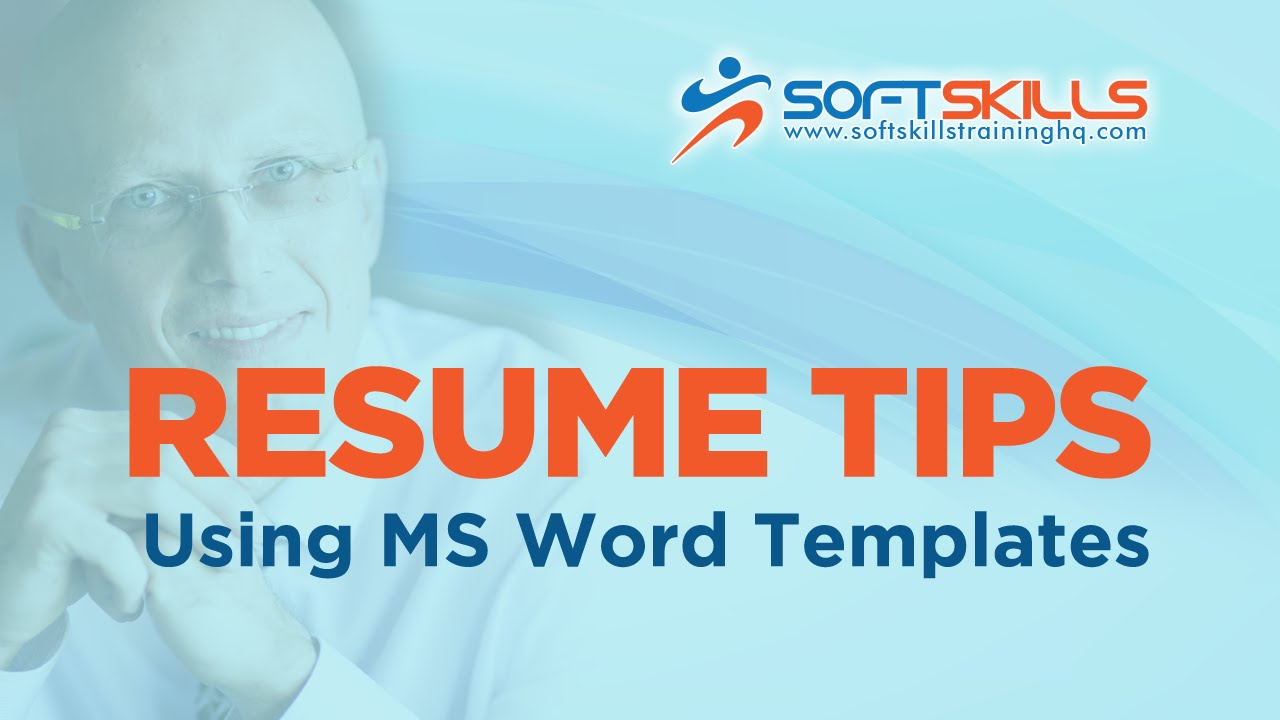 resume editing tips use resume templates in microsoft word youtube - How To Use Resume Template In Word