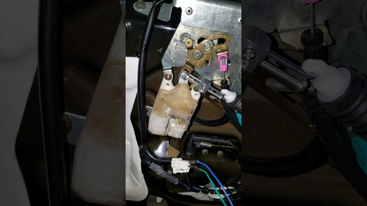 2005 2012 Nissan Pathfinder Liftgate Lock Actuator Fix