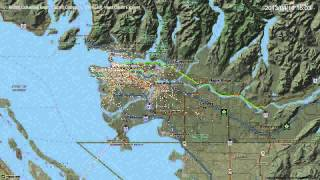 Metro Vancouver Transit (Translink): one day of activity (Version 2)