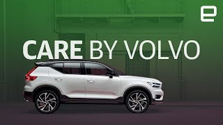 Volvo XC40 and Care by Volvo first look LIVE at LA Auto Show 2017