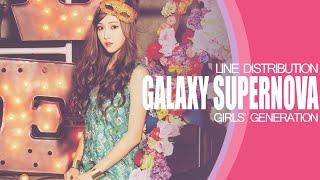 GALAXY SUPERNOVA - GIRLS' GENERATION (LINE DISTRIBUTION)