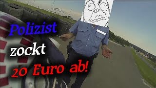 Polizist zockt 20 Euro ab!? German Road Rage & Angry People