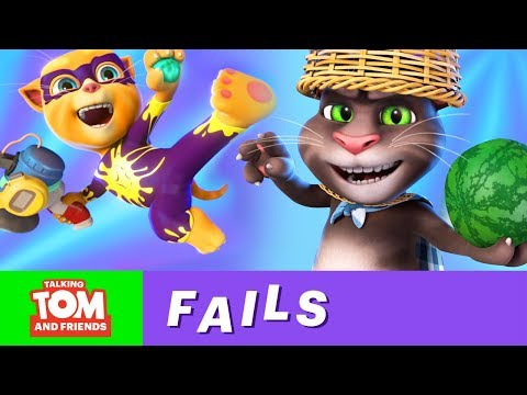 🤣FUNNY FAILS Vol. 2 by Talking Tom and Friends (Best of 2018)