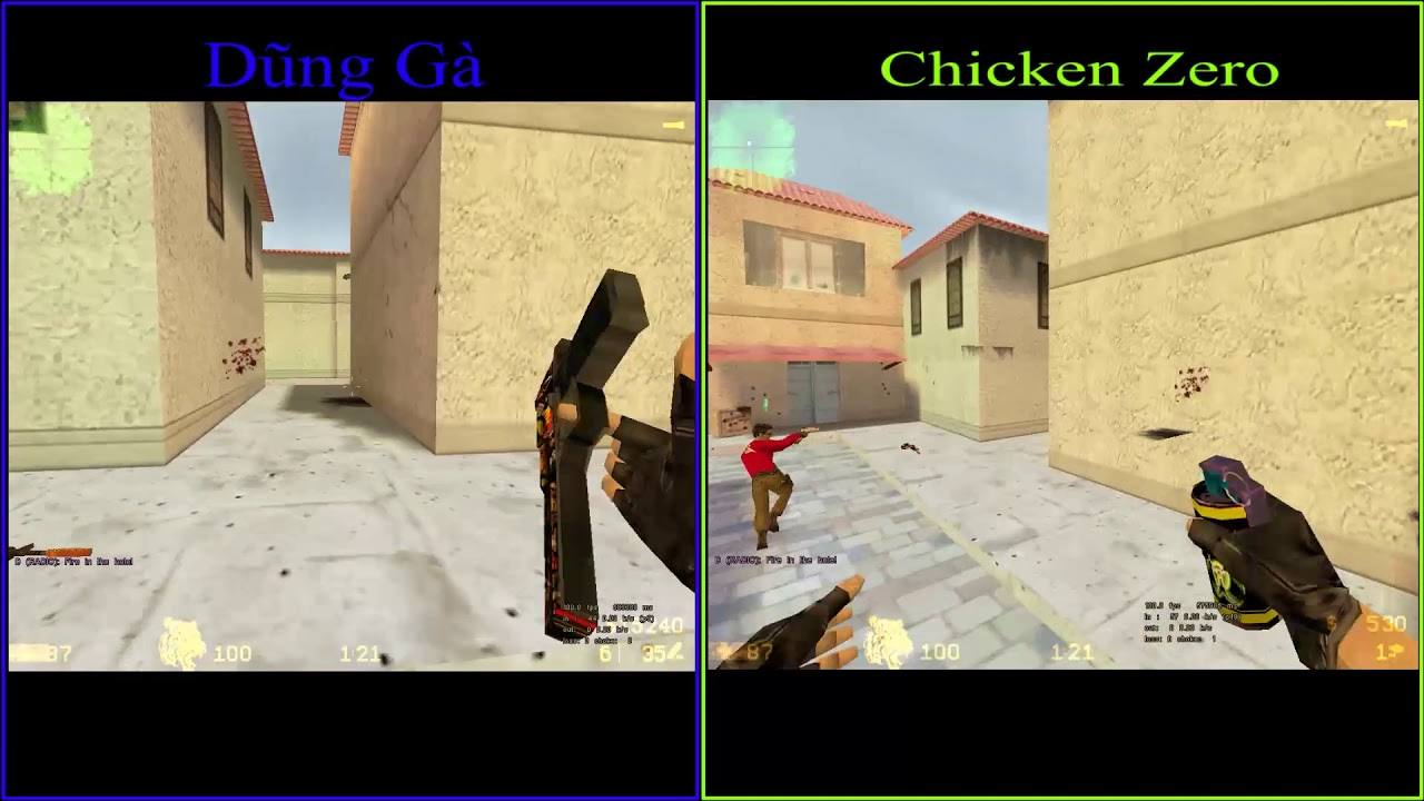 [ Half Life 1.1 ] Dũng Gà + Chicken Zero vs FRIENDS – ONLINE GARENA –  20/11/2017