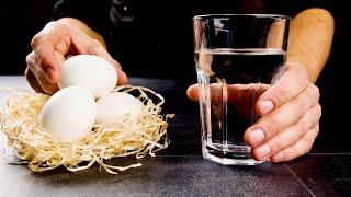 Стакан воды и 3 яйца! Устоять просто нереально! Лучшее, что можно приготовить к чаю!