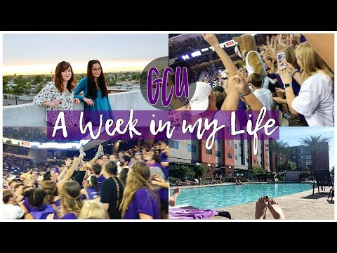 A College Week in My Life!! GCU