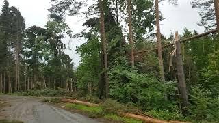 Unwetter  (4) in Piberegg am 12.06.2018