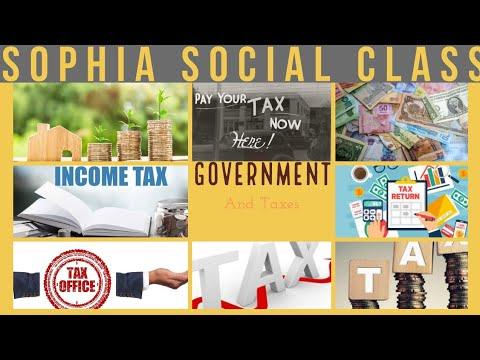 10th Social Economics Government And Taxes (part-1) EM