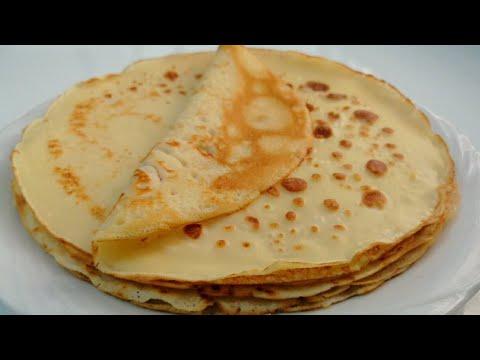 Tam Ölçülü Kahvaltılık Krep Tarifi🔝Krep Nasıl Yapılır /Kahvaltılık Tarifler ✅