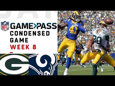 Packers vs. Rams | Week 8 NFL Game Pass Condensed Game of the Week