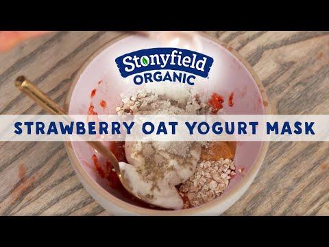 Strawberry Oat Yogurt Mask Danny Seo
