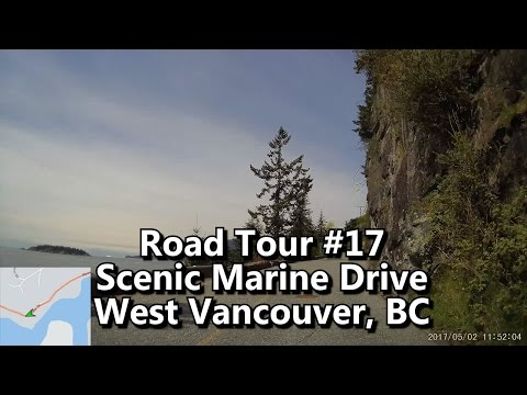 scenic-marine-drive,-west-vancouver---dash-cam-tour-#17