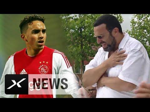 Nach Herzattacke: Fans besuchen Familie Nouri | Ajax Amsterdam | Eredivisie