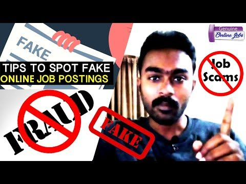 How to find fake online jobs (Tamil) | Scam jobs | Scam site | #Fakeonlinejobs | #GenuineOnlineJobs