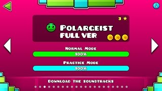 Geometry Dash : Polargeist (FULL VER) All Coin / ♬ Partition