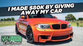 I gave away my $100k BMW & still made $80k