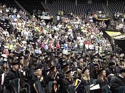 Wichita State University College of Health Professions Commencement 2013