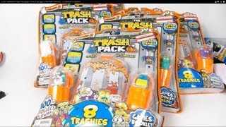 huge unboxing 6 trash pack series 2 dunk fizz bags ultra rare trashies clearance at target