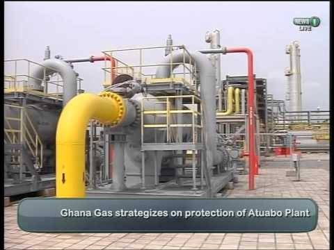 Ghana Gas strategize to protect processing plant against terrorist