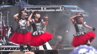 Babymetal  Gimme chocolate!!  Sonisphere festival 5-7-14