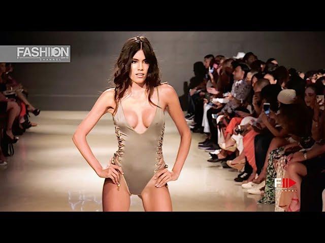 ALAIA EVE Art Hearts Fashion Beach Miami Swim Week 2018 SS 2019 - Fashion Channel