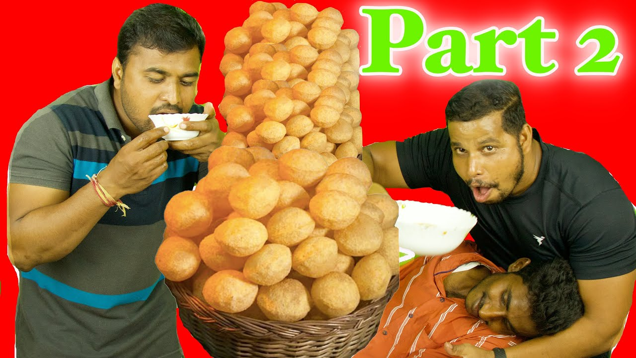 EK CHALAAK PANI PURI WALA AND 2 FREE FOOD HUNTERS EPISODE 2