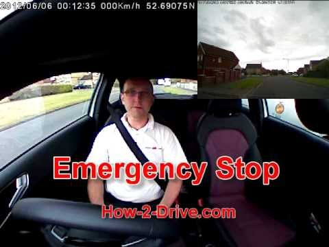 How to Safely Perform an Emergency Stop