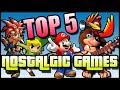 Top 5 Nostalgic Games! - BeatEmUps