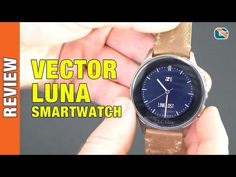 Vector Luna Smartwatch Review #smartwatch