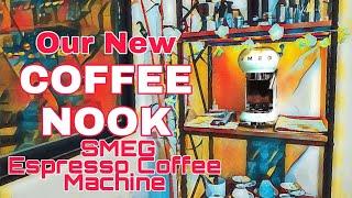 Our new Coffee Nook w/ SMEG Es…