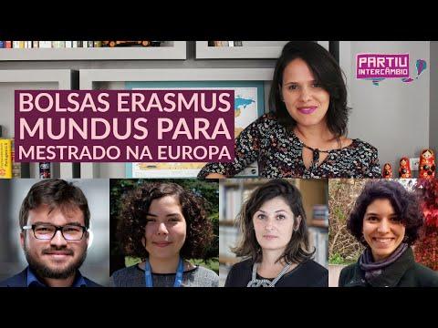 Bolsas #Erasmus Mundus para mestrado na Europa com tudo pago - Partiu Intercâmbio