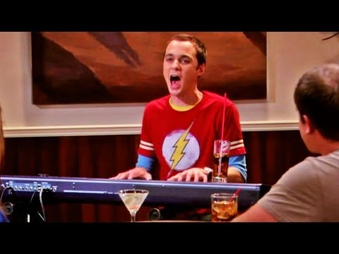 Sheldon Singing Fiddler On The Roof (HD720p)