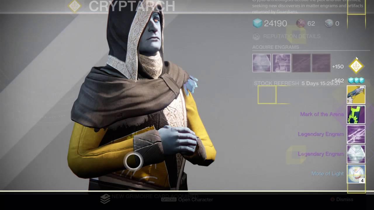 destiny arena engram