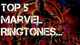 Download Top 5 Marvel Ringtones | Download now | Check Out The Description | Mp3 and Videos