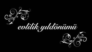 İSİMLERE ÖZEL EVLİLİK YILDÖNÜMÜ ŞARKISI 99TL