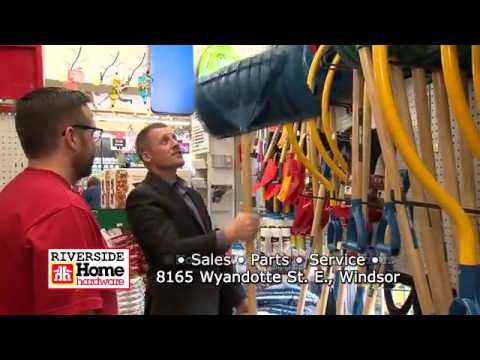 Riverside Home Hardware Christmas commercial
