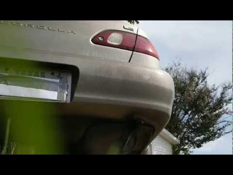 98 toyota corolla exhaust