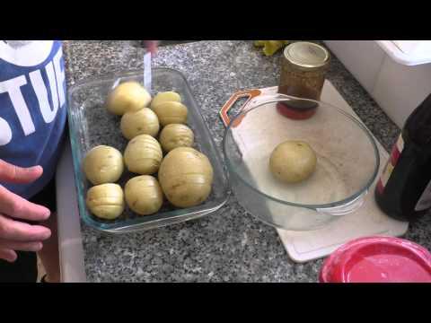 תפוחי אדמה שלמים מתוקים