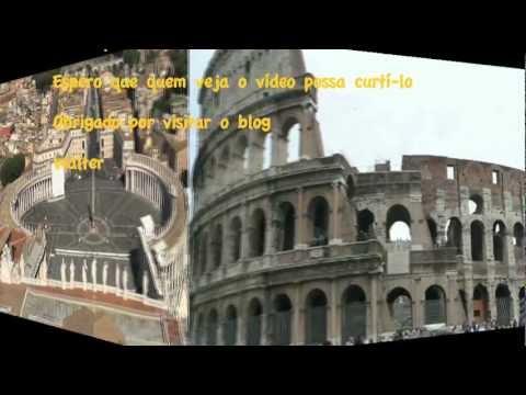 Roma vista da cúpula do Vaticano