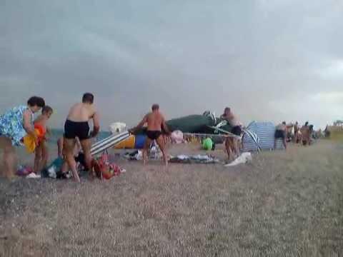 На Западный Крым обрушилась непогода - привью к видео SsByuhhArG0
