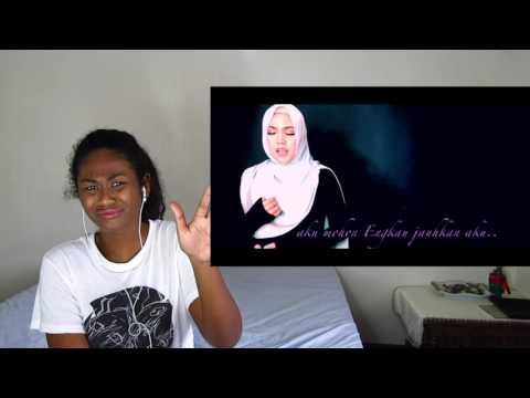 Shila Amzah - Hidayah Mu (LIRIK VIDEO) | Reaction