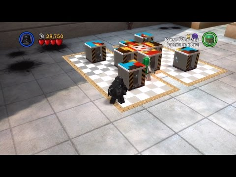 LEGO Star Wars: The Complete Saga. #3. Escape from Naboo (Свободная игра, 100%)