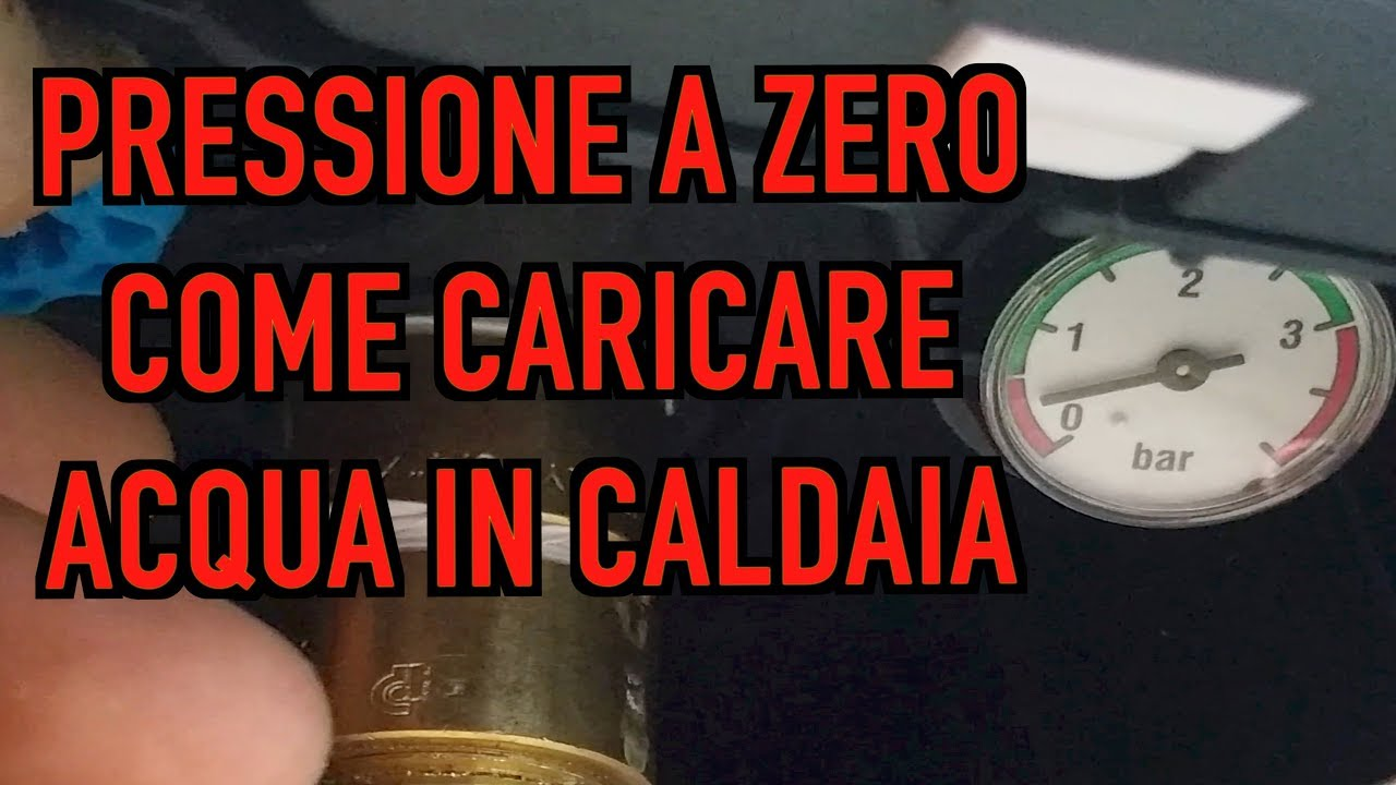 Chaffoteaux Centora Carico Acqua Caldaia Youtube