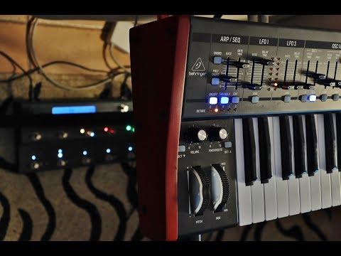 Cosmosis Live Ambient - Deepmind 12    🎹 🎶❄️🎵❄️🎶 Behringer DM12