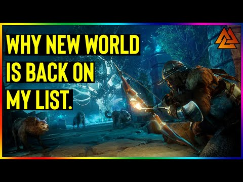 Amazon Might Have A Strong MMORPG Contender On Their Hands. (New World Game 2020)