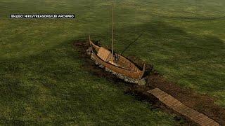 """شاهد: العثور على سفينة """"فايكنغ"""" في النرويج"""
