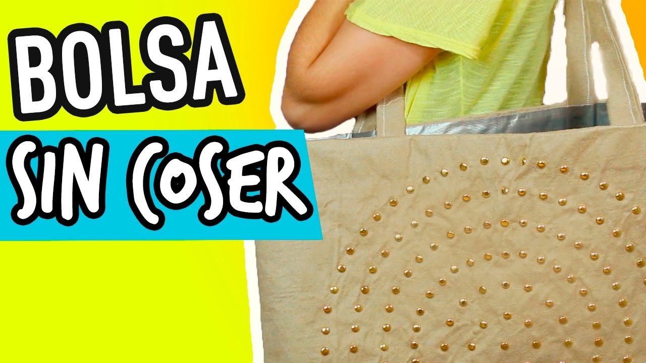 Como hacer una bolsa de tela f cil y sin coser catwalk - Como hacer bolsos con salvamanteles ...
