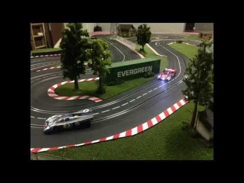 SLOT CAR – carrera digital 124 – moletta track – slot track – molettaring
