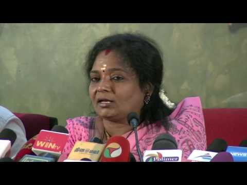 Swathi Case - Do Not Bring Caste & Politics In Swathi Case - Tamilisai  -~-~~-~~~-~~-~- Please watch: